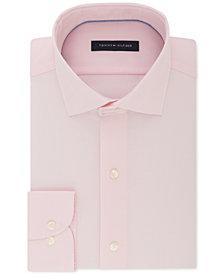 Tommy Hilfiger Men's Big & Tall Classic/Regular Fit Non-Iron Stretch Dress Shirt
