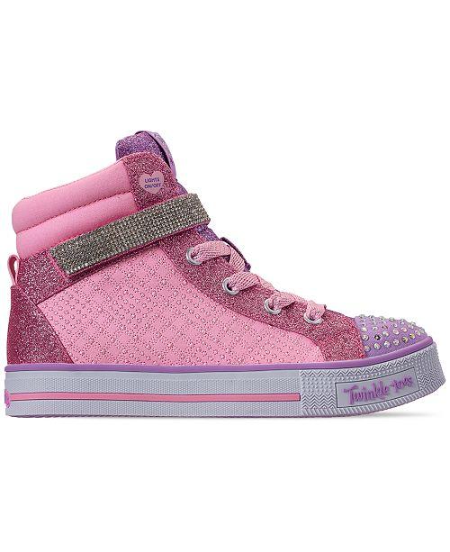 161c86665410 ... Skechers Little Girls  Twinkle Toes  Twinkle Lite - Beauty N Bliss  High-Top ...