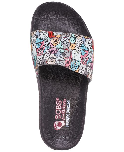 5778bc801 ... Skechers Women's BOBS For Dogs and Cats - Woof Party Slide Sandals from  Finish ...
