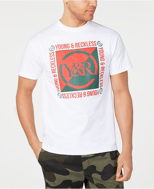 Young & Reckless Men's Section Logo T-Shirt