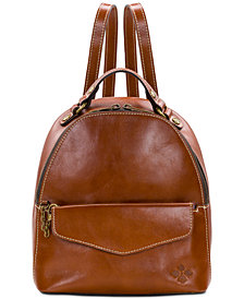 Patricia Nash Montioni 2-in-1 Leather Backpack