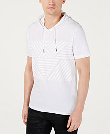 INC Men's Throwback Short-Sleeve Hoodie, Created for Macy's