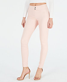 HUE® Classic Smooth Denim Leggings, Created for Macy's
