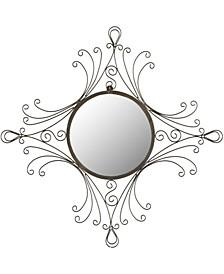 Maltese Mirror in Brown