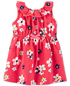 Carte's Baby Girls Floral-Print Cotton Sundress