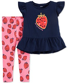 650d9a688fa9a Baby Girl Clothes - Macy's