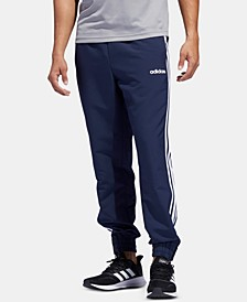 Men's Three-Stripe Woven Joggers