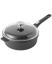 """GEM Cast Alum 10"""" Non-Stick Covered Sauté Pan"""