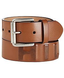 Tommy Hilfiger Men's Logo Casual Belt