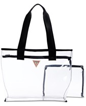 c9d352e4d6 GUESS G Vision Clear Tote
