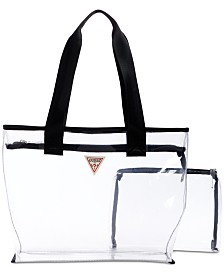 GUESS G Vision Clear Tote