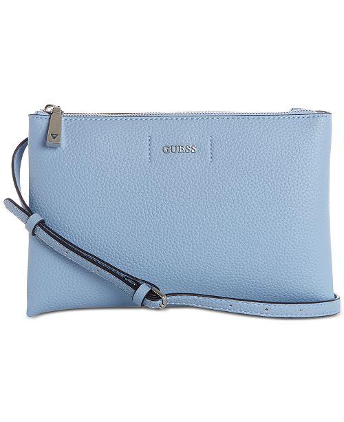 e18f7c108b60 GUESS Varsity Pop Crossbody - Handbags   Accessories - Macy s
