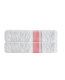 Enchante Home Unique 2-Pc. Turkish Cotton Bath Sheet Set
