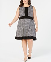 4f4a243a370 MICHAEL Michael Kors Plus Size Printed A-Line Dress