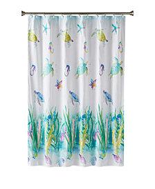 Saturday Knight Ltd. Watercolor Ocean Shower Curtain
