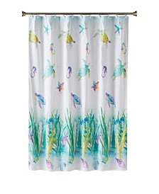 Saturday Knight Ltd. Watercolor Ocean Shower Curtain