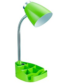 Limelight's Gooseneck Organizer Desk Lamp with iPad Tablet Stand Book Holder