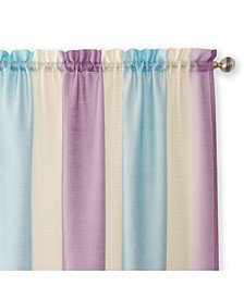 Spectrum Rod Pocket Window Curtain Panel, 50x84