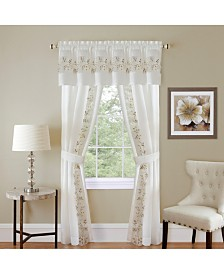 Fairfield 5 Piece Window Curtain Set, 55x63
