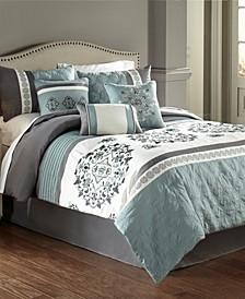 Alex 7Pc Queen Comforter