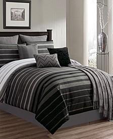 Barkley 10 Pc King Comforter Set