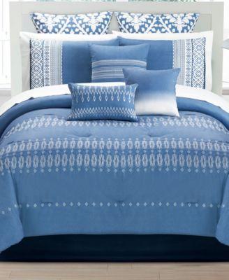 Finnegan 10 Pc King Comforter Set
