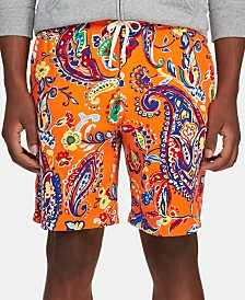 Polo Ralph Lauren Men's Paisley Spa Terry Shorts