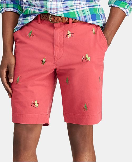 cba3cef22273 ... Embroidered Shorts  Polo Ralph Lauren Men s 9.25