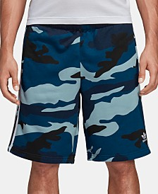 adidas Men's Originals Camo French Terry Shorts