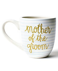 by Laura Johnson Stripe Mother of the Groom  Mug Smoke
