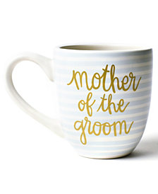 Coton Colors by Laura Johnson Stripe Mother of the Groom  Mug Smoke