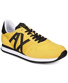 Armani Exchange Men's Lace-Up Sneakers