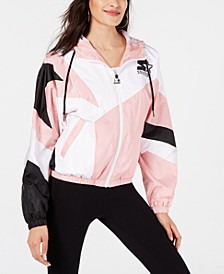 Colorblocked Hooded Active Jacket