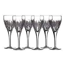 Waterford Mara Wine Glasses, Set of 6
