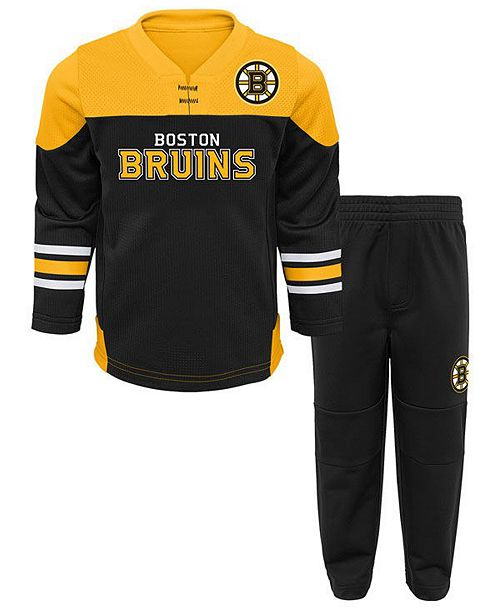 5f03ebd94 ... Outerstuff Boston Bruins Playmaker Pant Set, Infants (12-24 months) ...