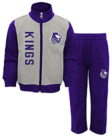 Outerstuff Sacramento Kings On the Line Pant Set, Toddler Boys (2T-4T)