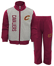 Outerstuff Cleveland Cavaliers On the Line Pant Set, Infants (12-24 months)