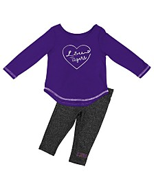 Colosseum LSU Tigers Legging Set, Infants (12 months)