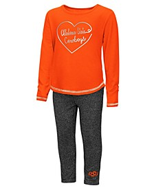 Oklahoma State Cowboys Legging Set, Toddler Girls (2T-4T)