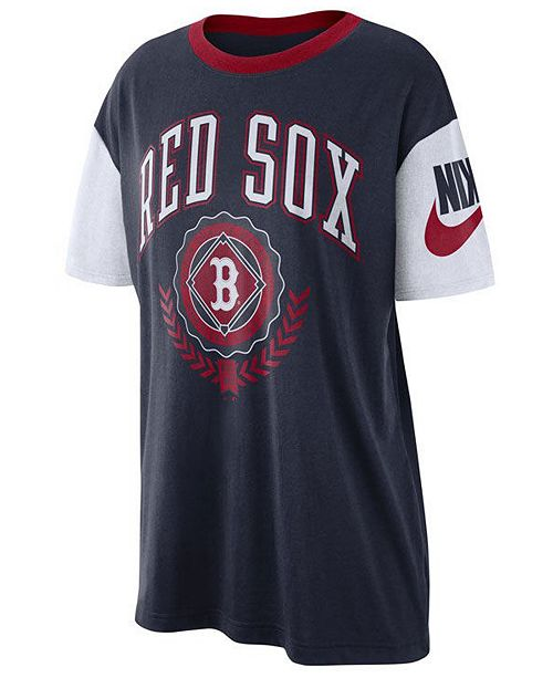 best sneakers 3e59c a492a Women's Boston Red Sox Retro Boycut T-Shirt