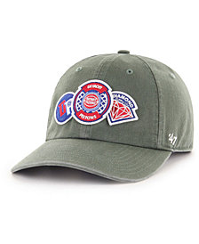 '47 Brand Detroit Pistons Diamond Patch CLEAN UP MF Cap