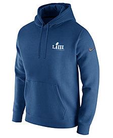 Nike Men's Super Bowl LIII Club Fleece Pullover Hoodie