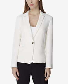 Tahari ASL Single-Button Blazer