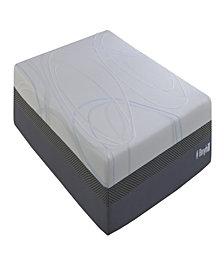 "Broyhill O2 12"" Full Medium Plush Liquid Gel Foam Mattress With Celliant Fiber"