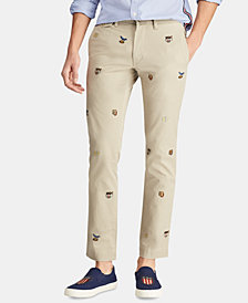 Polo Ralph Lauren Men's Stretch Slim-Fit Chino Pants