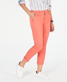 Hampton Straight-Leg Pants