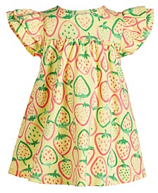 First Impressions Baby Girls Printed Cotton Dress, Created for Macy's