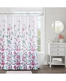 """Decor Studio Elodie 72"""" x 72"""" Shower Curtain"""