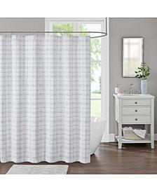 "Decor Studio Johnston 72"" x 72"" Shower Curtain"