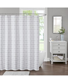 "Decor Studio Johnston 72"" x 72"" Shower Curtain"